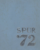 1972 Reagan High yearbook cover